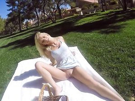Take Your Girlfriend On A Picnic And Fuck Her In POV